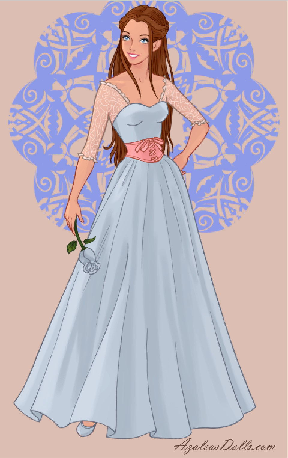 Wedding Dress Designers Game.Erika From Barbie As The Princess And The Pauper In Wedding Dress