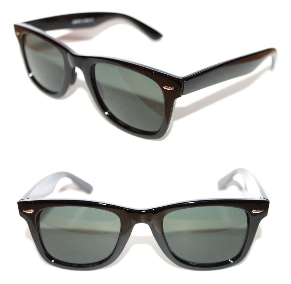 6992fef8c5f9 Men s Women s Thick Horn Rimmed polished Red Frame Sunglasses Xl black  Lenses  Spexx  Square