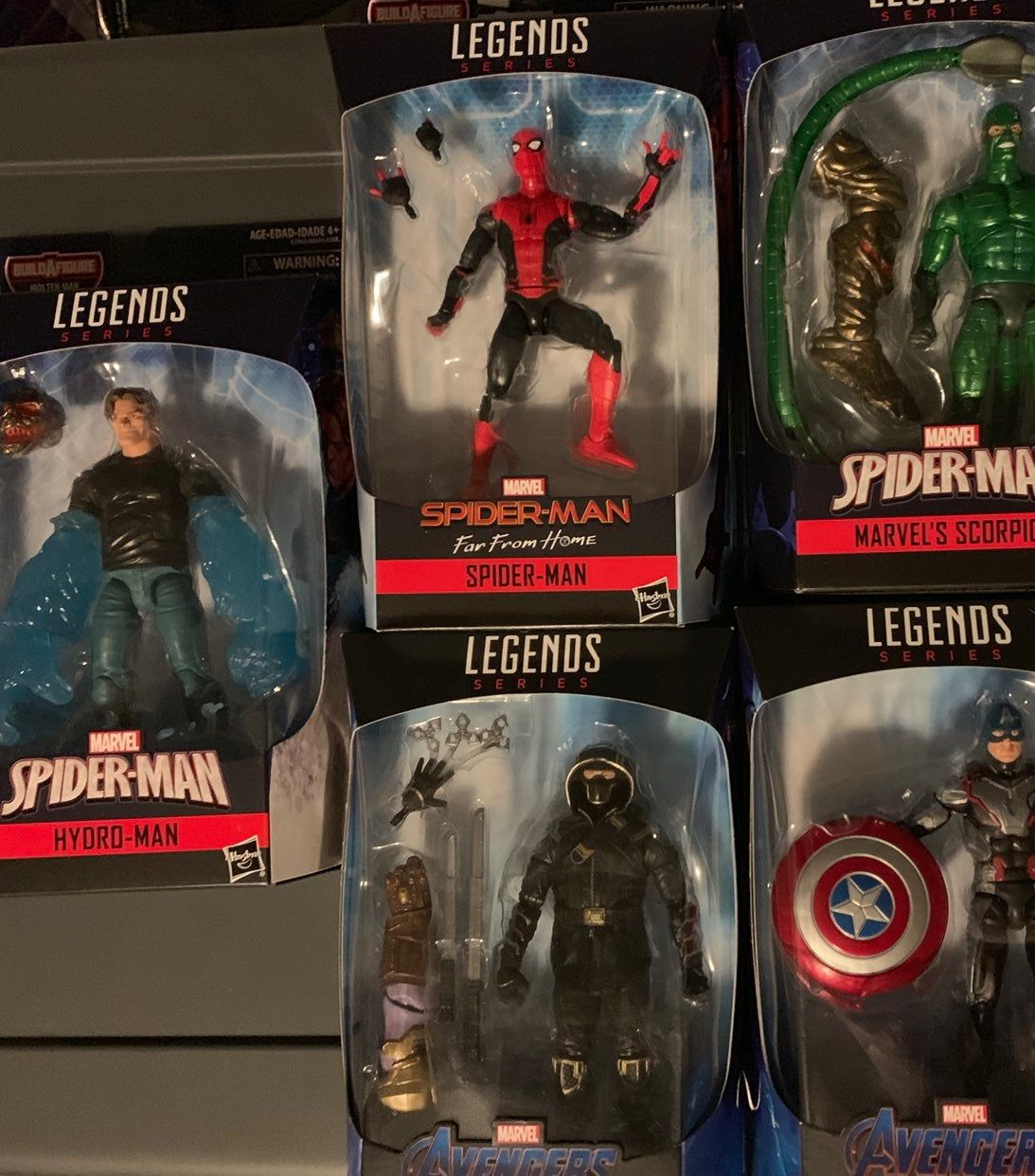 HYDRO-MAN new in package MARVEL LEGENDS SERIES