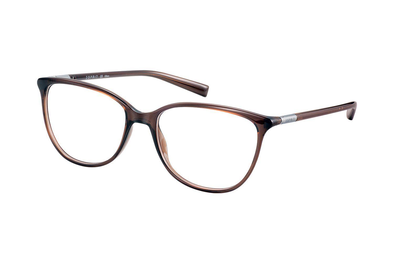 Esprit Et17561 535 Brille In Braun Transparent Brille Esprit Brillen Brillen Damen
