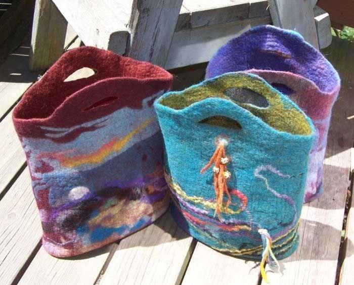 Wet Felting Artists   Wearable Art Felting Gallery by Tash Wesp, Felting Artist