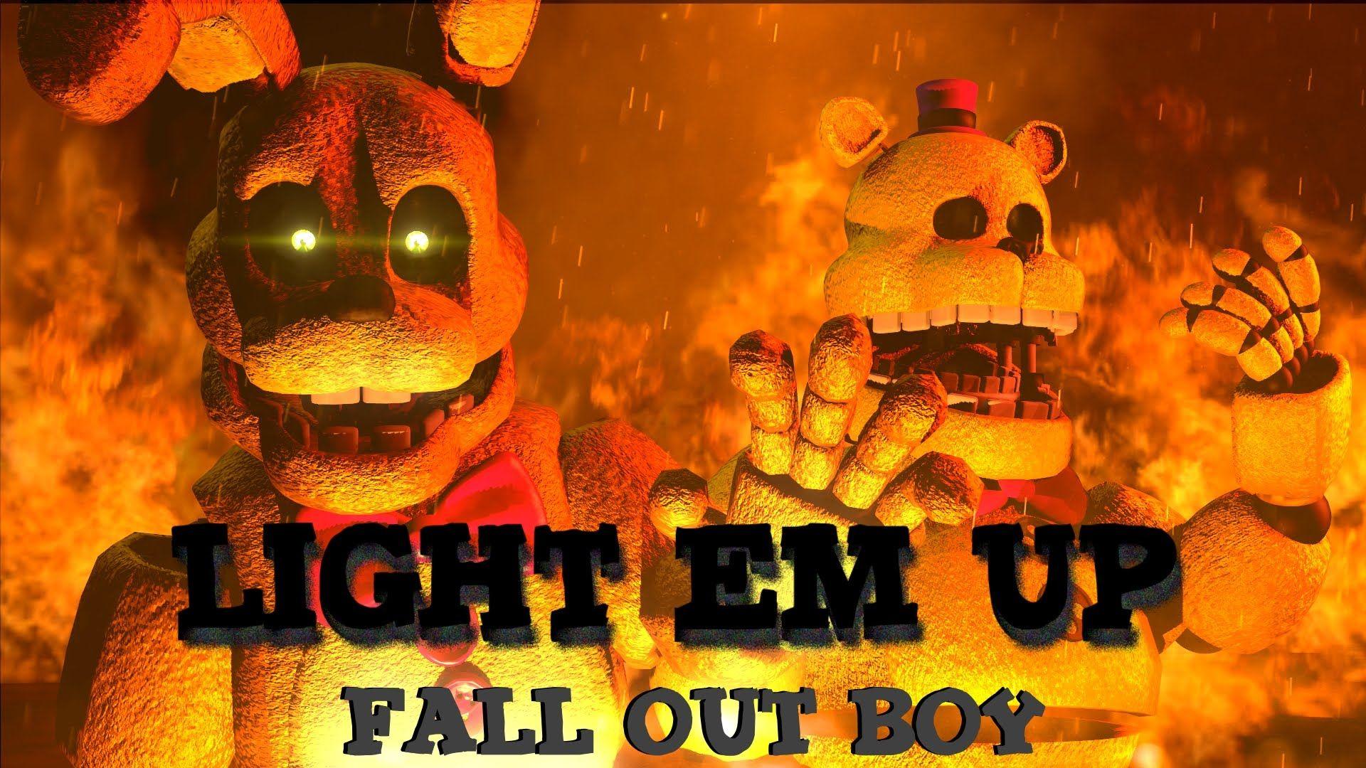 Sfm Fnaf Music Light Em Up Fnaf Art Fnaf
