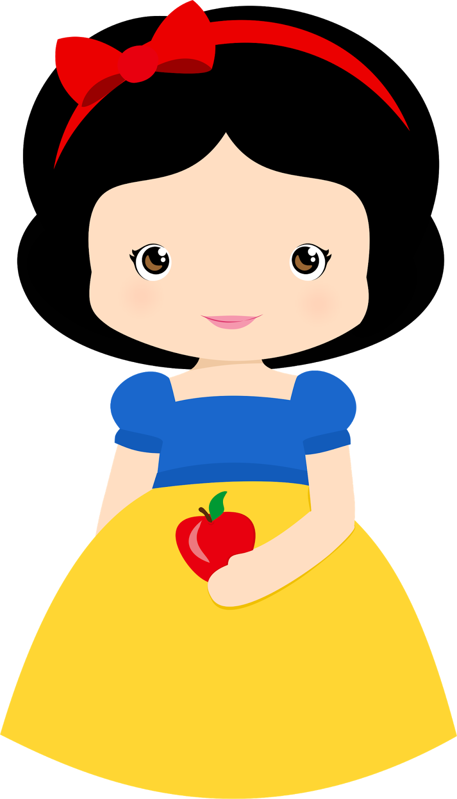 Snow White Pretty Clipart 009 Png 916 1600 Blancanieves Bebe Princesas Princesas Disney