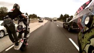 Stunt Street Bike On The Highway Hd Via Youtube Motorrad