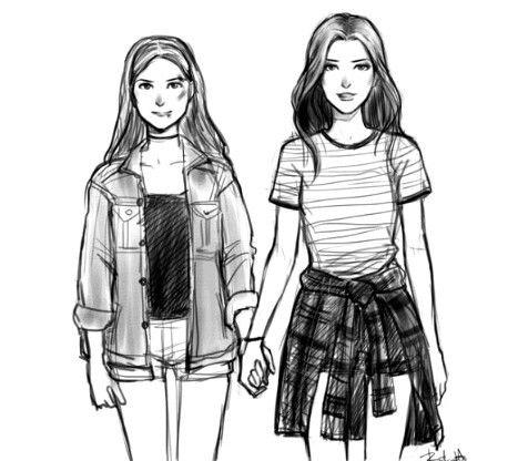 desenho de girls friends tumblr - Pesquisa Google