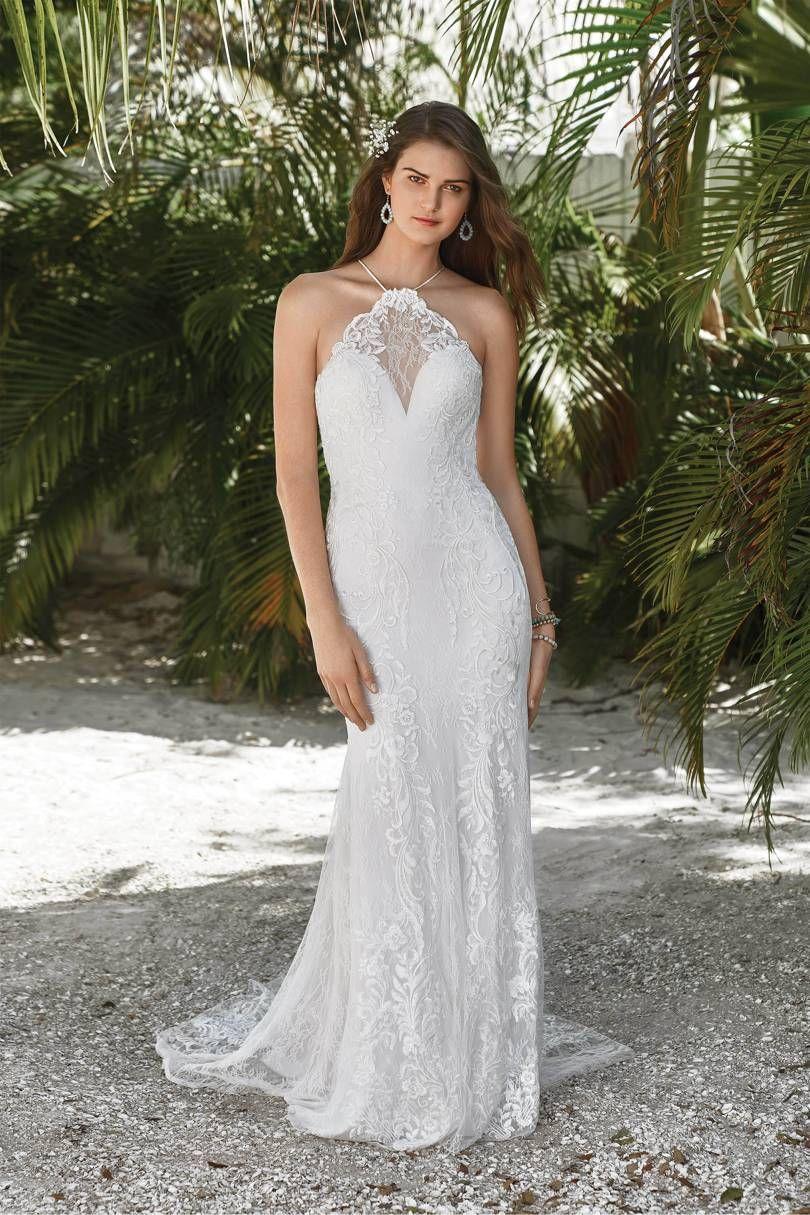 48 High Neck Halter Wedding Dresses Good Enough For Meghan Markle