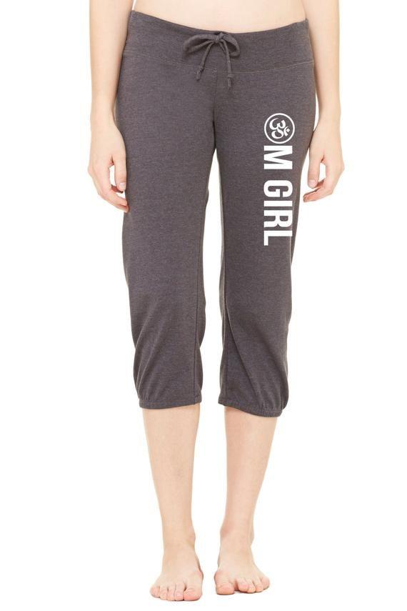 839dc954d0d8a Om Girl Yoga Pant Lounge Pant Capri Pant Omies Hot Yoga Capri in ...