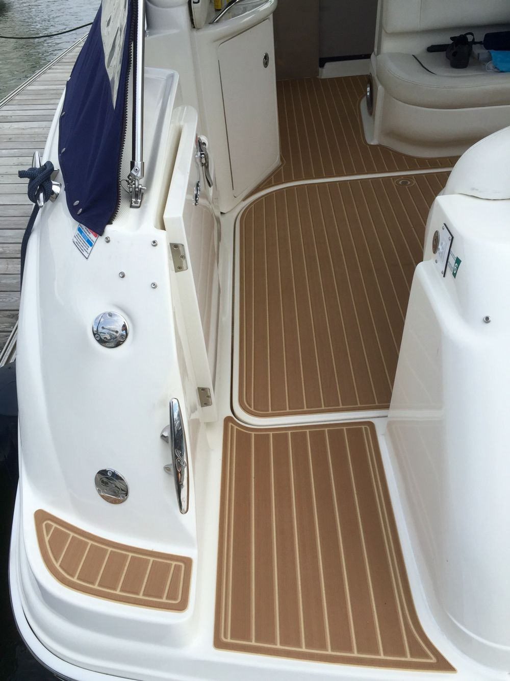 Axess seadek sea ray boat sundancer 360 carpet mat sea dek