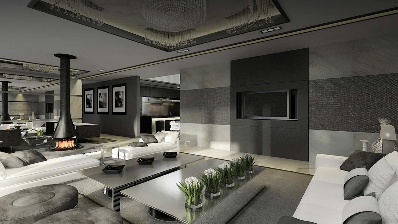 Lux contemporary interior design