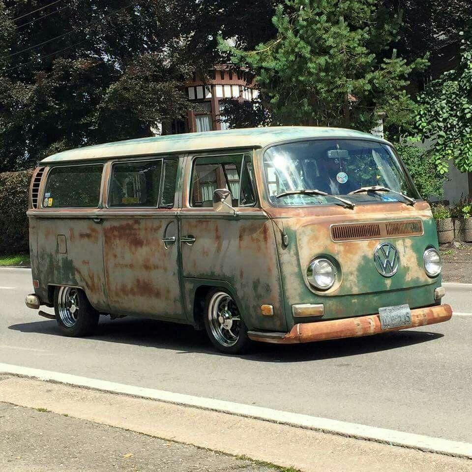 pinta green lowlight vw bus volkswagen vw bus t2. Black Bedroom Furniture Sets. Home Design Ideas