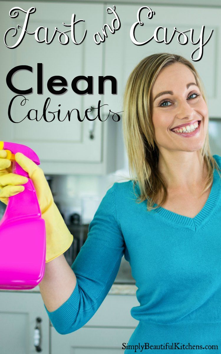Get Grease Off Kitchen Cabinets - Easy and Naturally | Cleaning Tips ...