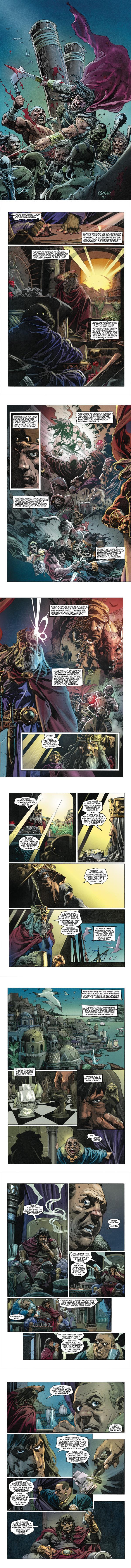 Dark Horse Preview: KING CONAN - The Conqueror #1