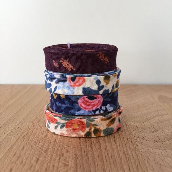 Rifle Paper Co Bias Tape Remnant Pack 4 different by SoBiased