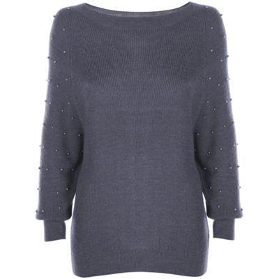 Dark grey Nina Jumper at debenhams.com