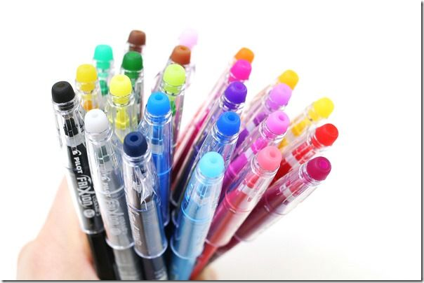 10 Days Of Creating The Perfect Planner Day 7 Pens Gel Ink Pens Gel Pens Erasable Gel Pens