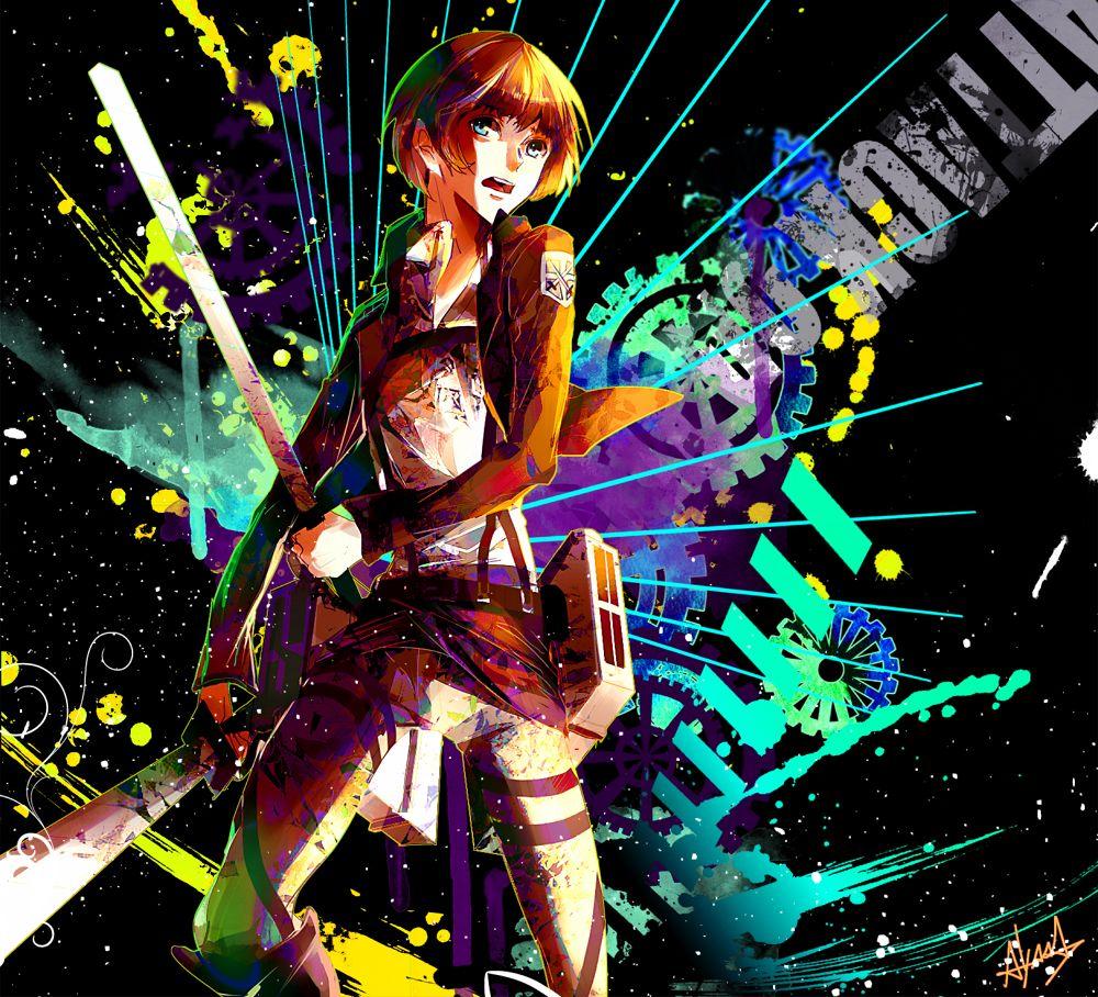 Pinterest Armin, Attack on titan art, Anime