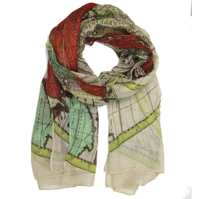 Bucasi global world map scarf in cream beige 13 summer travel bucasi global world map scarf in cream beige 13 summer travel outfit ideas httpamzn29oy8x2 gumiabroncs Image collections