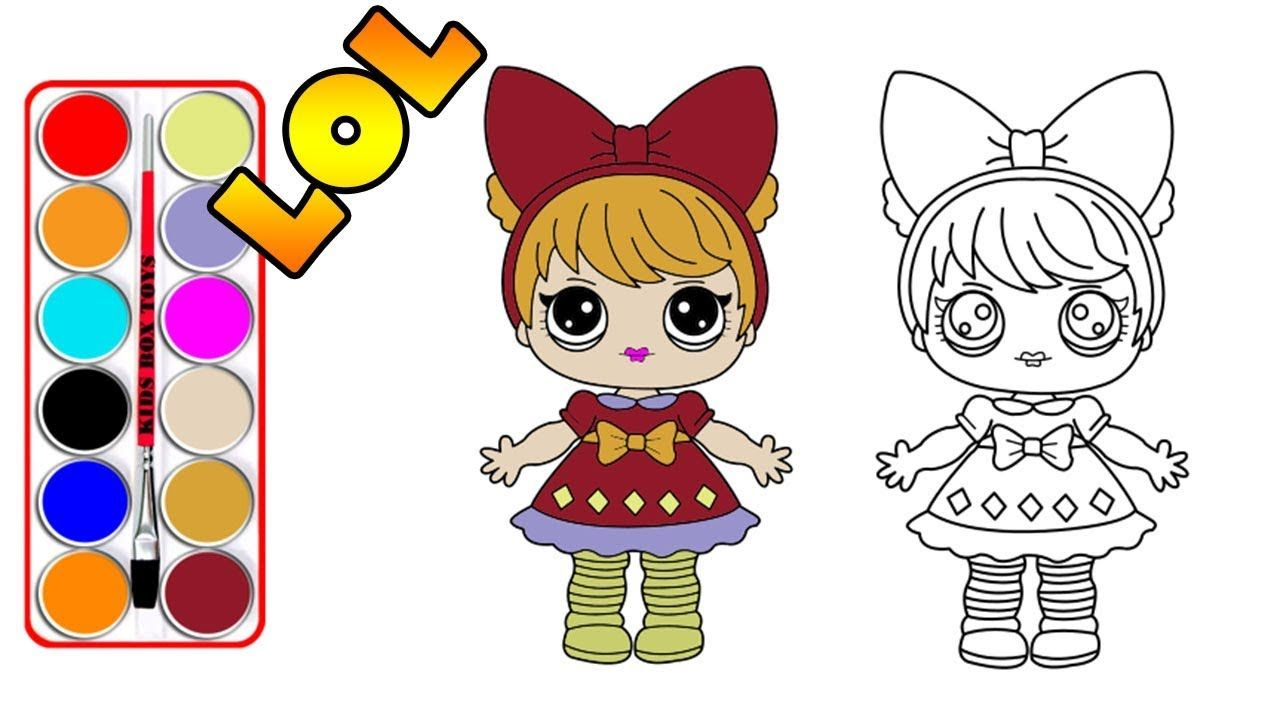 how to draw lol surprise doll drawing a cute lol surprise doll for