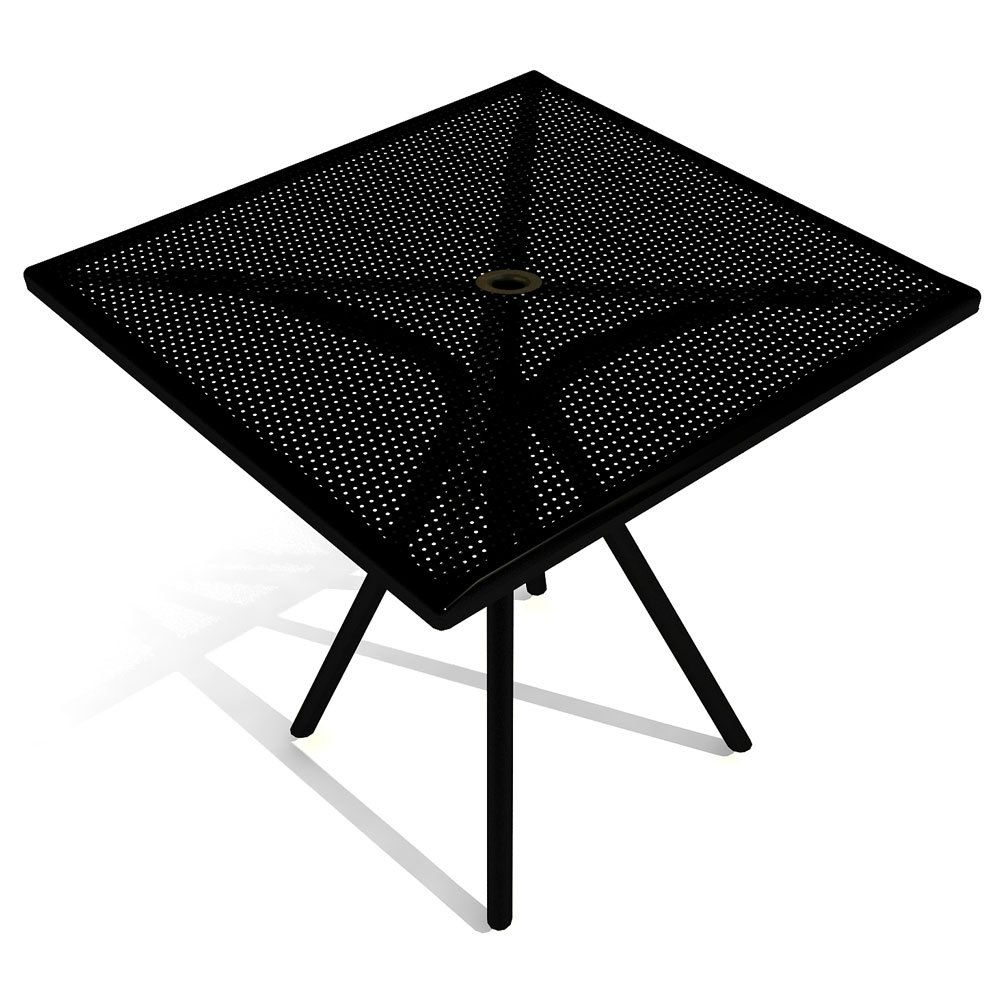 American Tables And Seating Ab3030 30 X 30 Black Outdoor