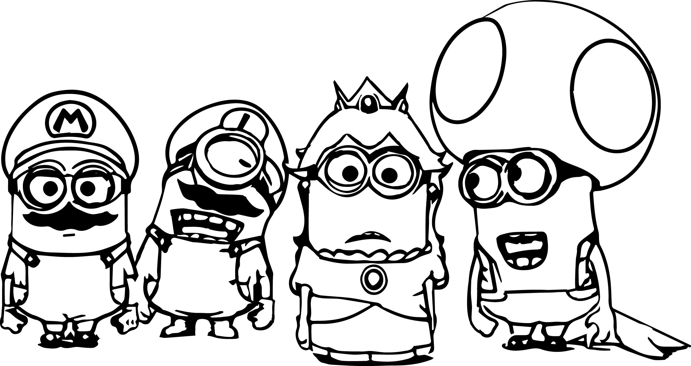 Coloring Pages Minions Super Mario Minions Coloring Page Wecoloringpage Entitlementtrap Com Minions Coloring Pages Minion Coloring Pages Mario Coloring Pages