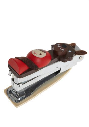 red riding hood & wolf stapler