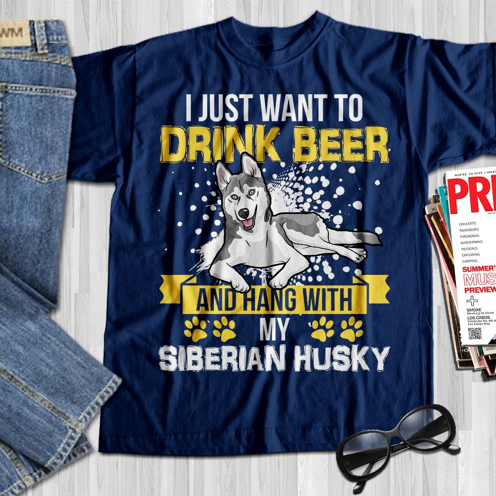 Funny Gift for Beer Lover Drinker Husband Dad Mom Daughter Son Sister Brother Birthday T-Shirt Tee Shirt Unisex Tee