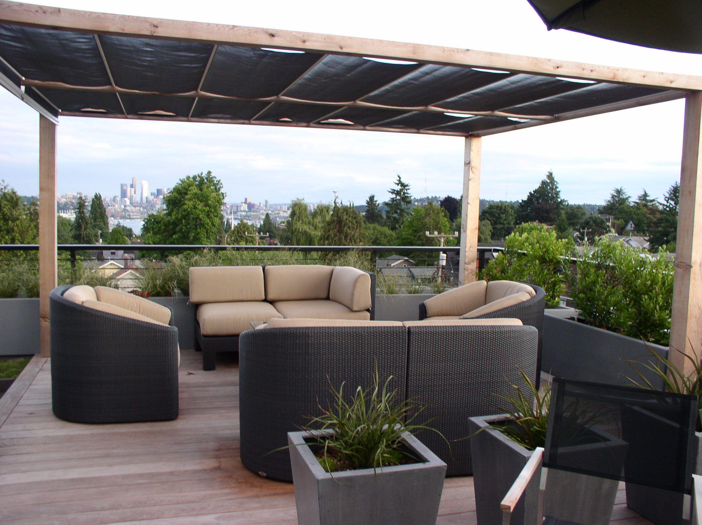 Rooftop Deck Sun Shade Outdoor Eden' In 2019