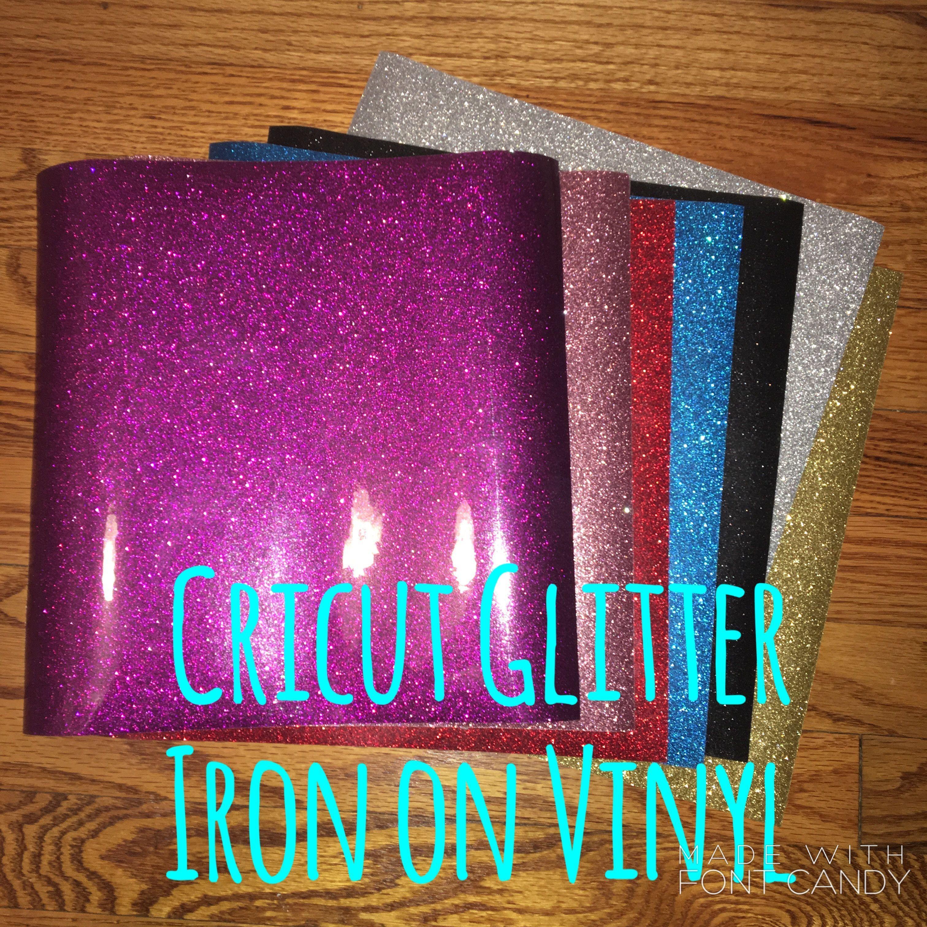 Cricut Glitter Vinyl Sheets 12 X 12 Glitter Vinyl Glitter Projects Glitter Crafts