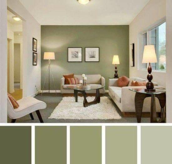Anti Bingung Inilah Rahasia Mudah Menentukan Cat Rumah 29 Ide Inspiratif Cat Warna Rumah M Living Room Color Schemes Living Room Wall Color Living Room Color