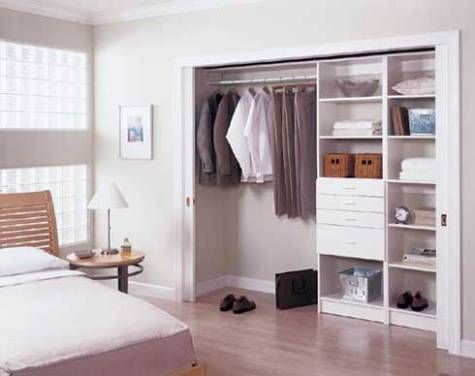 Master Bedroom Closet Design #HomeBuildersinRaleigh