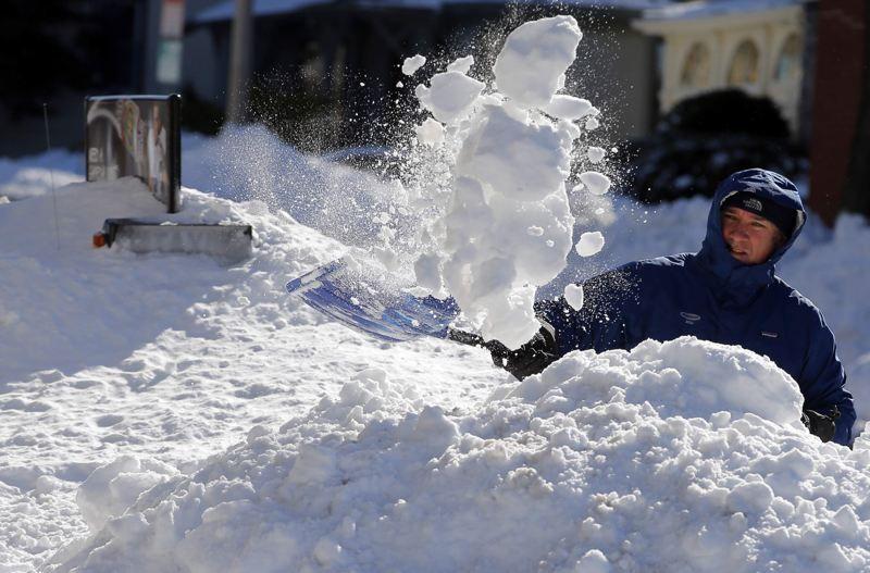 2013 blizzard New York to Boston