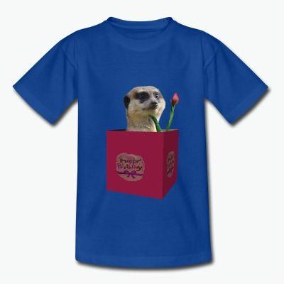 T-Shirt Design Erdmännchen, Geburtstag, Happy Birthday