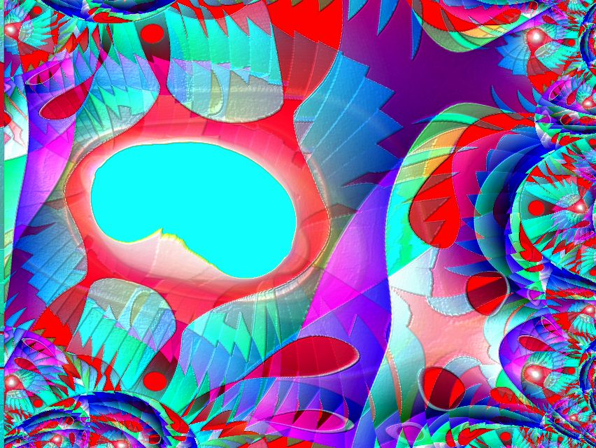 fractal series by Florencia Mittelbach