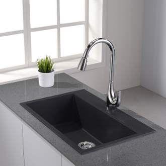 Kraus Kgd 412 Granite Kitchen Sinks Sink Kitchen Sink
