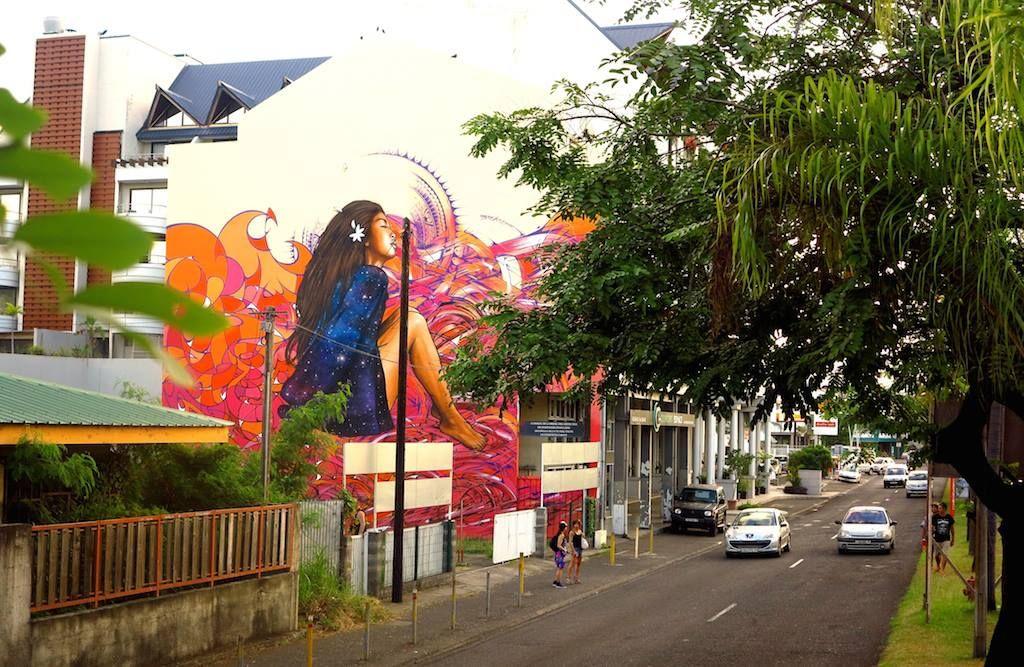 Alex / Broc / Hopare in Papeete Street art, Tahiti, Papeete