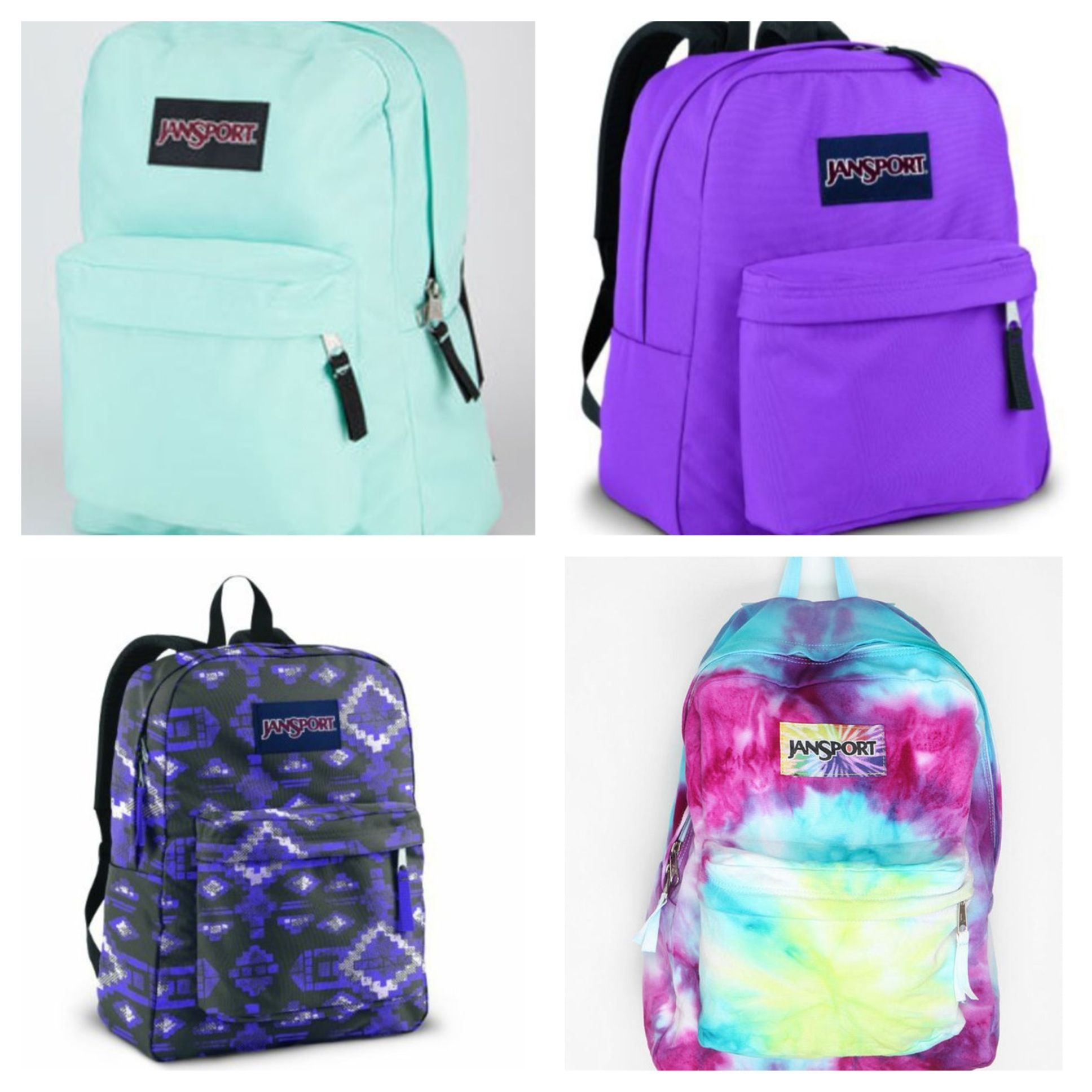 Jansport backpacks I like the top left one | Kiernan | Pinterest ...