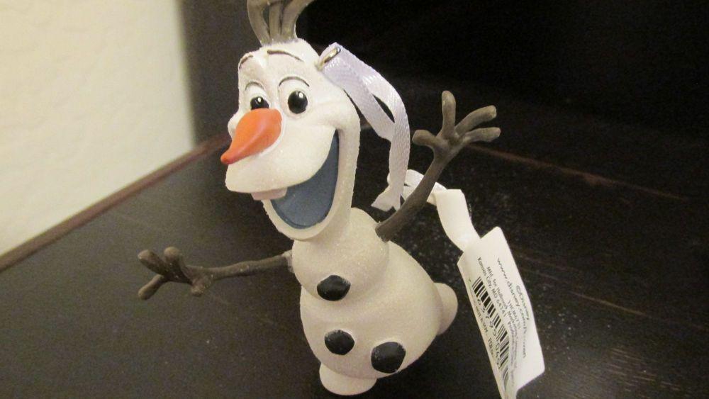 2015 Hallmark Christmas Ornament Disney FROZEN OLAF  Snowman  new