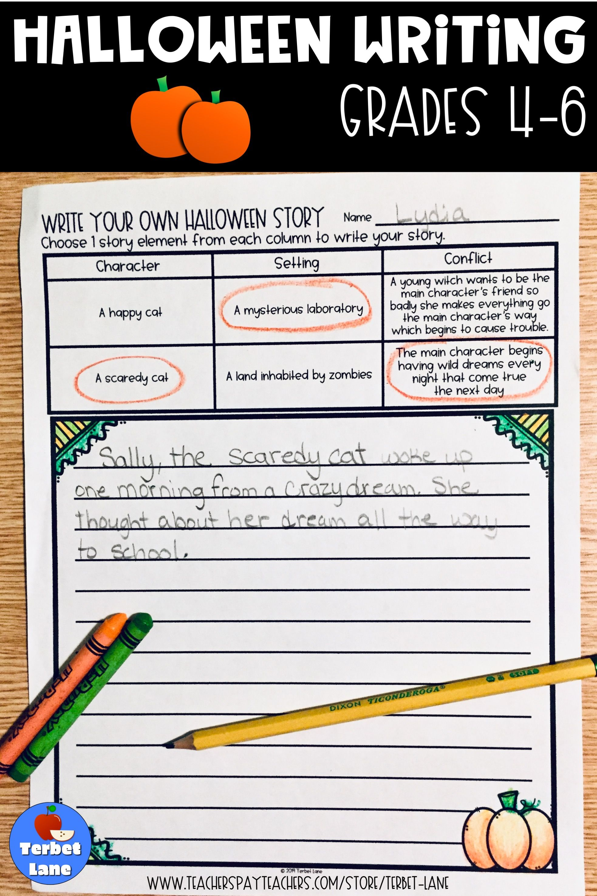 Halloween Writing Prompts With Images