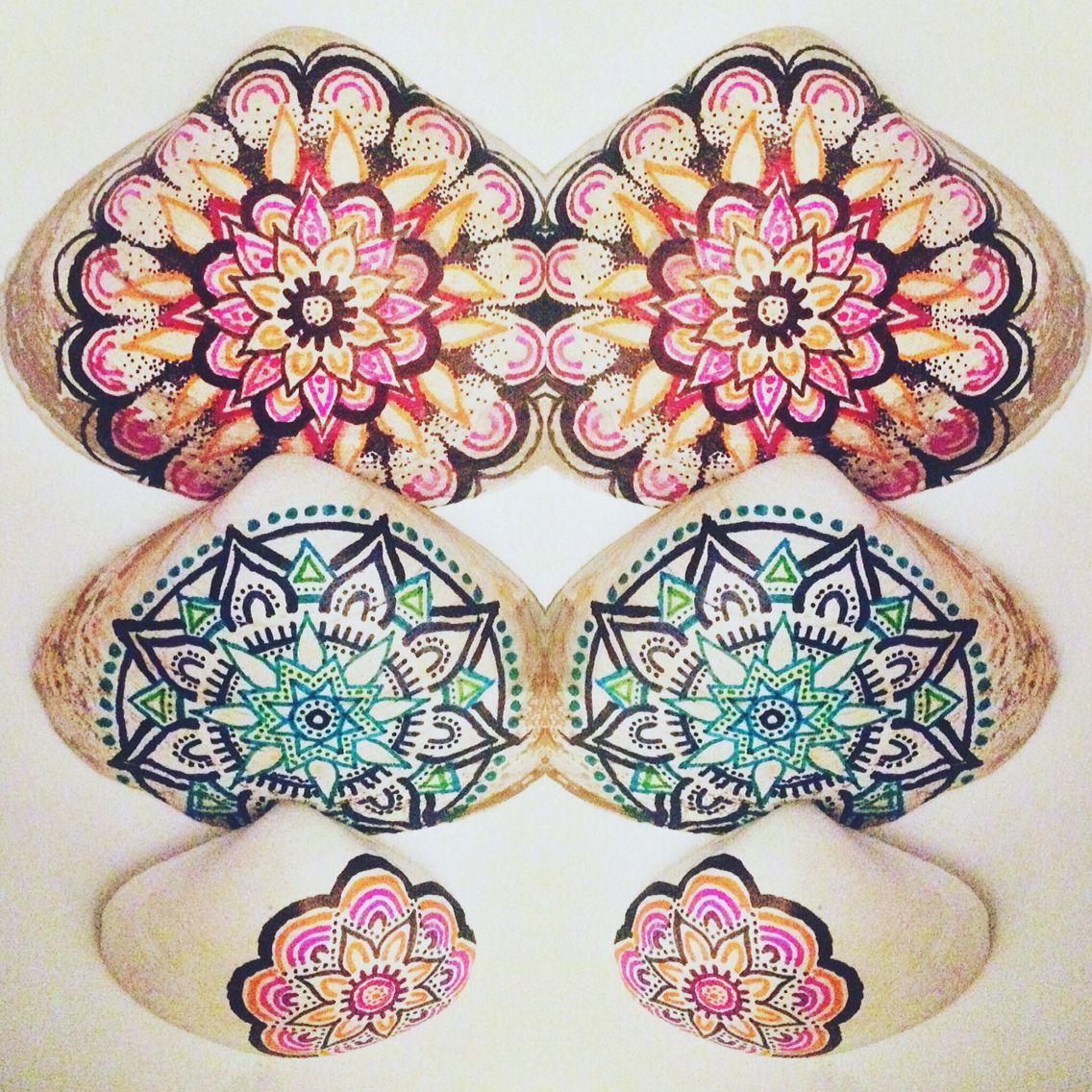 Hand Drawn Mandala Seashells by Mandala Minds ⋆ available on etsy soon! 5a8a6253209