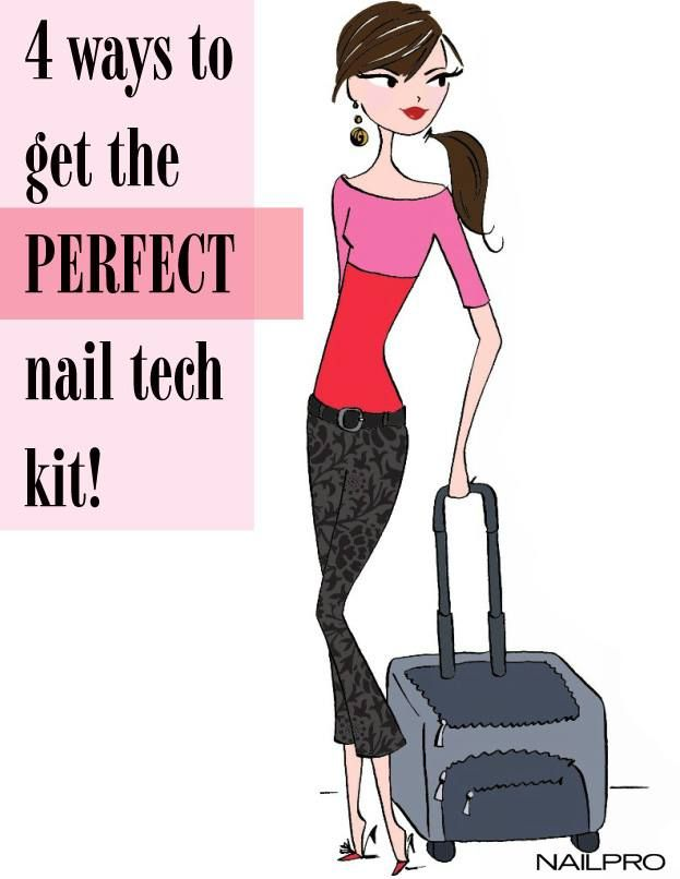 The perfect nail tech kit. | Nail Designs | Pinterest | Nail tech ...