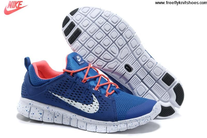 san francisco 6c19a e9e43 Cheap Mens Nike Free Powerlines II Blue Red White Shoes Shoes Shop