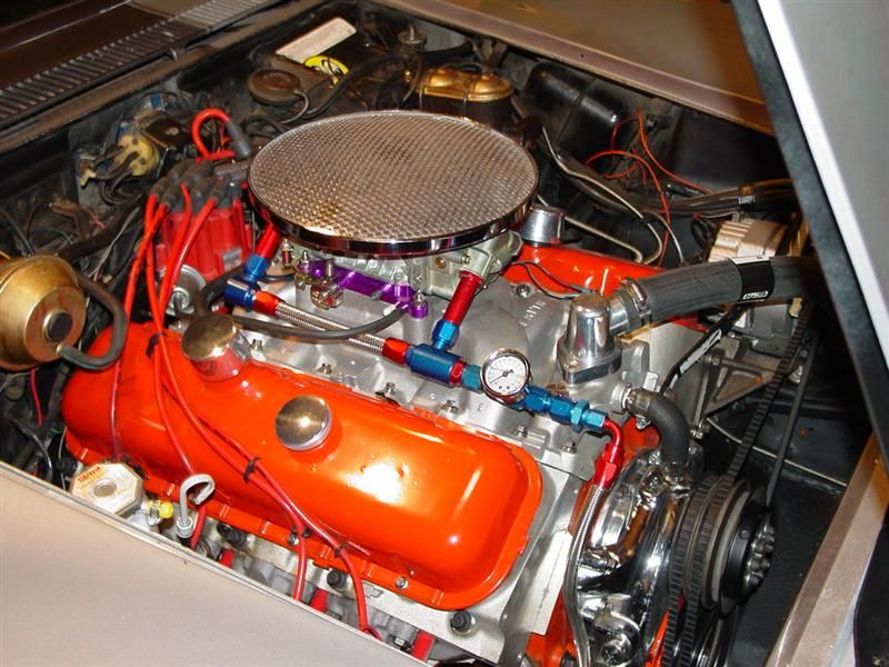 Muscle Car Engine Air Cleaners : This air cleaner is an old cal custom originally used on