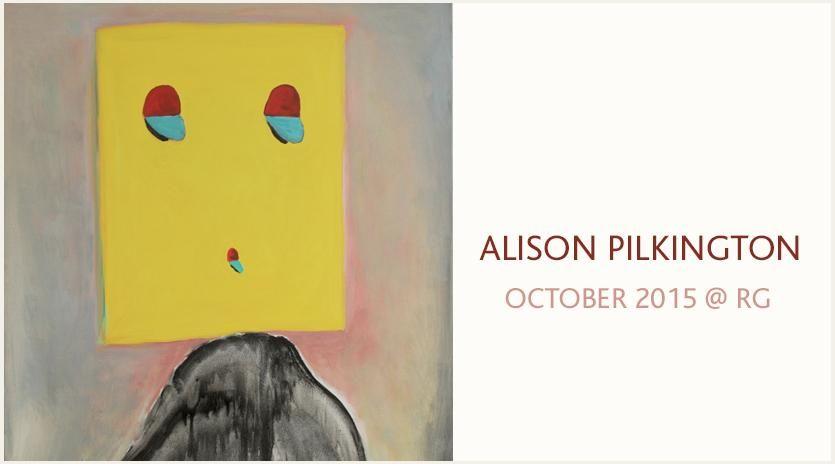 ALISON PILKINGTON, October 2015 @ RG
