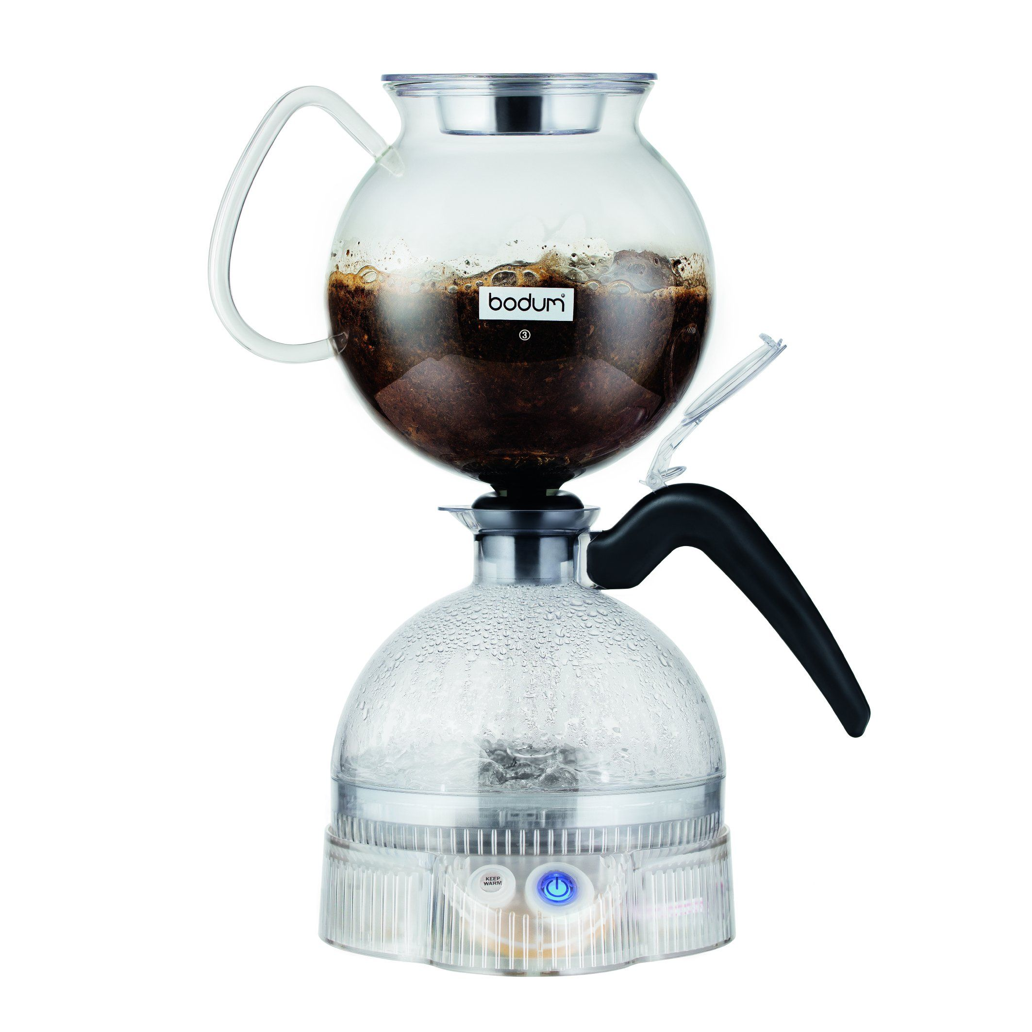 Bodum Epebo Coffee Maker, Electric Vacuum Coffee Maker, Siphon Coffee