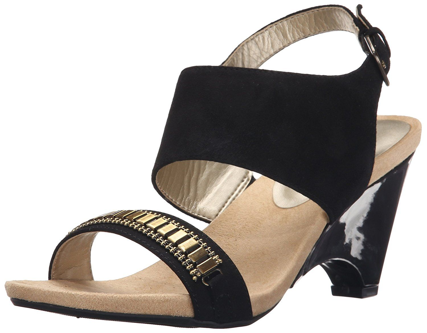 43003bbd9d81 Anne Klein Women s Rio Wedge Sandal     Want additional info  Click on the  image. (This is an affiliate link)  shoeoftheday