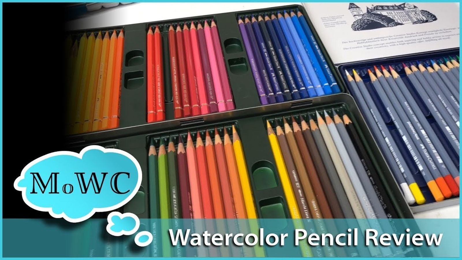Faber Castell Watercolor Crayons With Brush 15 Colors Premium
