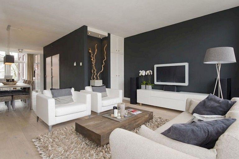 Verwonderend 55+ Amazing Modern Minimalist Living Room Inspirations | Rooms UL-43