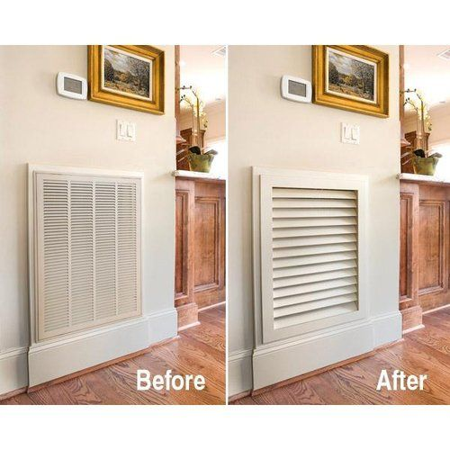 Worth Home Premier Luxury Return Air Grille Primed Home Home Remodeling House