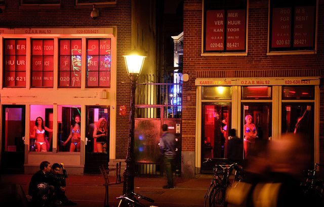 Amsterdam Red Light District Windows In 2020 Amsterdam Red