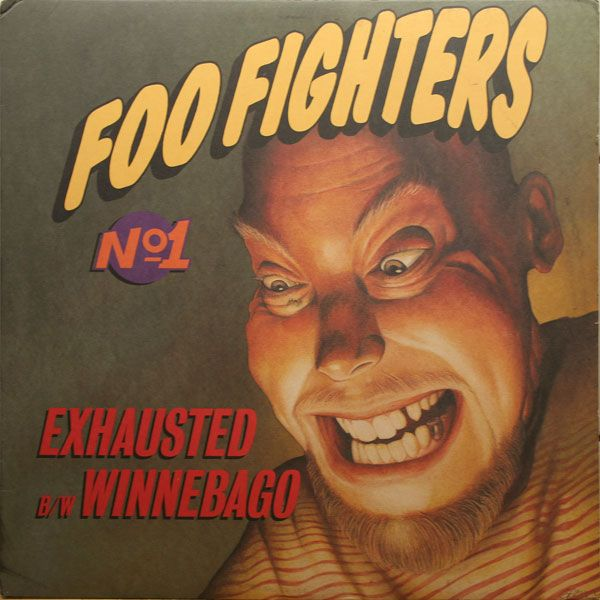 Foo Fighters Album 1995